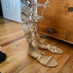 Ivanka Trump | Size: 7.5 | Tan Gladiator Sandals